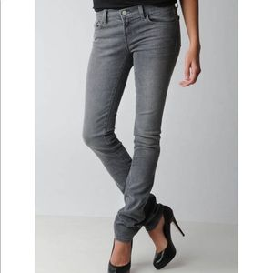 J Brand Pencil Leg Jeans in Pure Grey